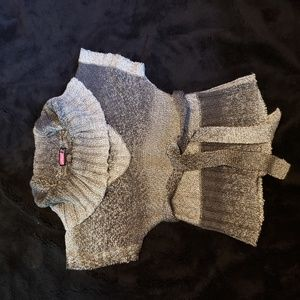 Say what? Cowl neck sweater